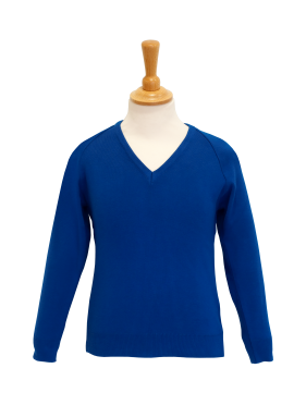 V Neck Pullover; Coolflow; Cotton Acrylic; Schoolwear; School Uniform; Knitwear; Charles Kirk