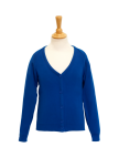 Button Cardigan; Coolflow; Cotton Acrylic; Schoolwear; School Uniform; Knitwear; Charles Kirk